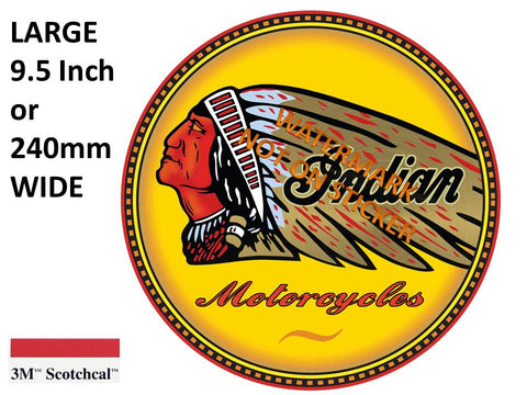Indian Motor Cycles Sticker