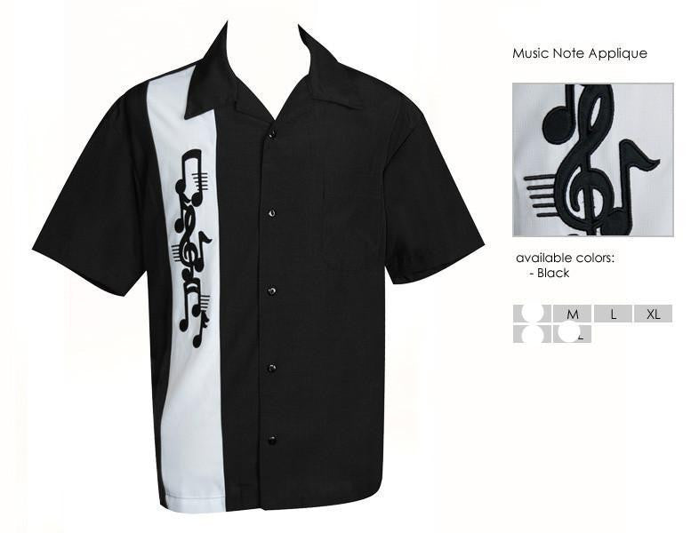 Music Note Applique  from USA