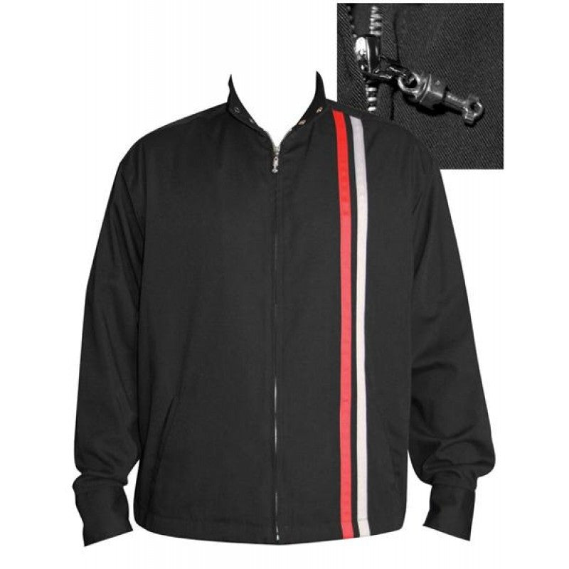Garage Racer Black Rockabilly Jacket