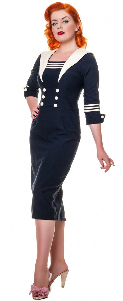 sailor louise dress