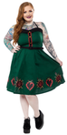 Hearts and rose Spookville Dress
