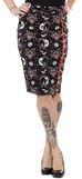 Sourpuss Bombshell Lucy Fur Skirt