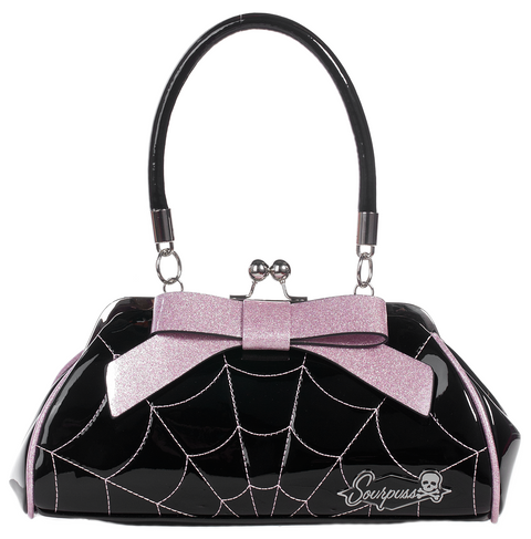 Spider Web Floozy Pink