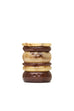 Narrow Night Creme Fakelite Bangle Regular