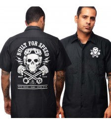 Built For Speed Work Shirt Rock Steady