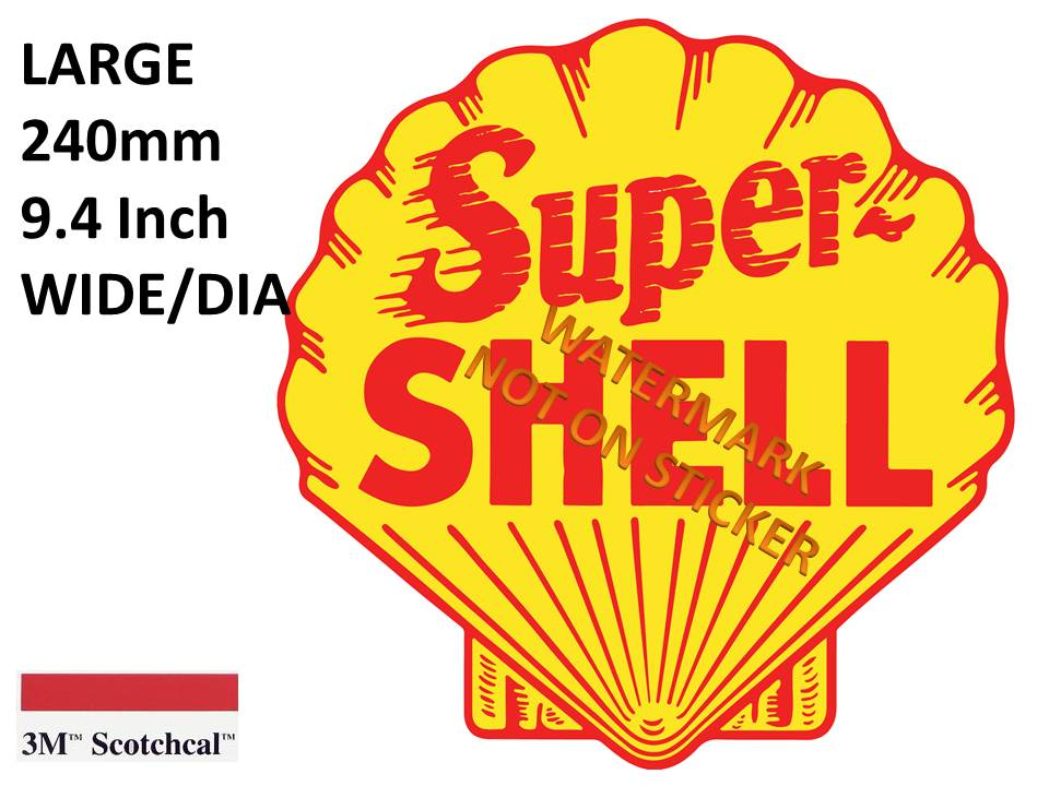 Super Shell Sticker