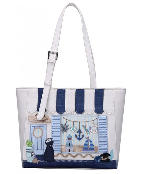 Seaside Souvenirs Shopper Bag Vendula London
