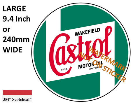 Castrol Green Sticker