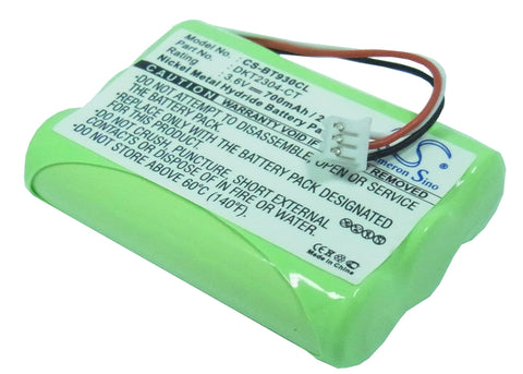 Battery for GP 40AAAH3BMLZ 3.6V Ni-MH 700mAh / 2.52Wh