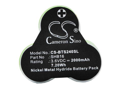 Battery for Remington HC-352 3.6V Ni-MH 2000mAh / 7.20Wh