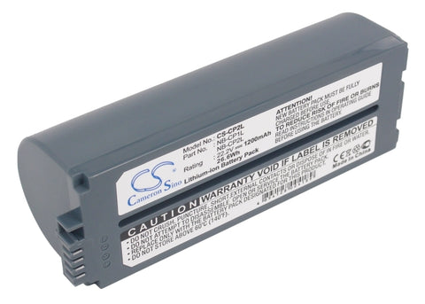 Battery for Canon Selphy CP- 500, Selphy CP-100, Selphy CP-1000, Selphy CP-1200,