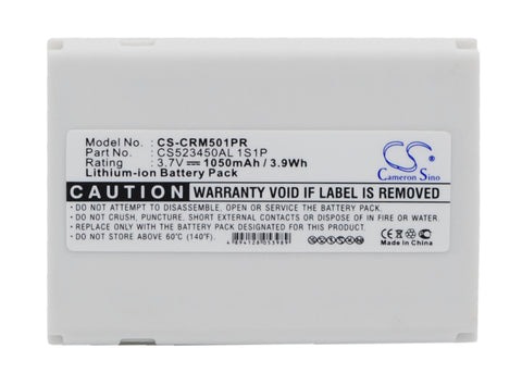 Battery for CriticalResponse M1501, REH-1501 CS523450AL 1S1P 3.7V Li-ion 1050mAh