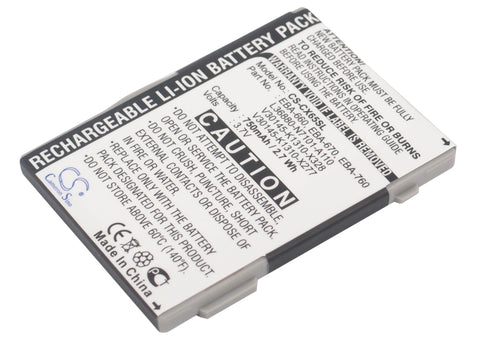 Battery for Siemens A31, A58, AX72, AX75, C65, C65v, C66, C70, C71, C72, C75, C8