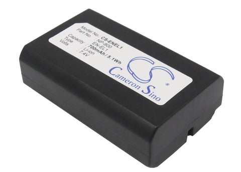 Battery for Nikon Coolpix 4300, Coolpix 4500, Coolpix 4800, Coolpix 5000, Coolpi