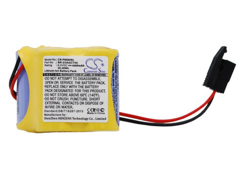 Battery for Panasonic A98L00310025, A98L-0031-0025, BR 2/3AGCT4A, BR2/3AGCT4A, B