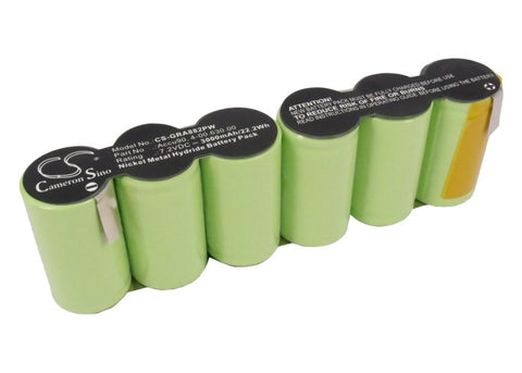 Battery for Gardena 8804, 8820, Gartenschere, Rasenschere 4-00.630.00, Accu90 7.