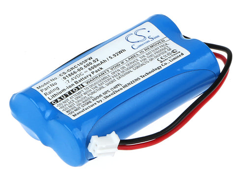 Battery for Gardena C1060 plus Solar 01866-00.600.02 7.4V Li-ion 800mAh / 5.92Wh