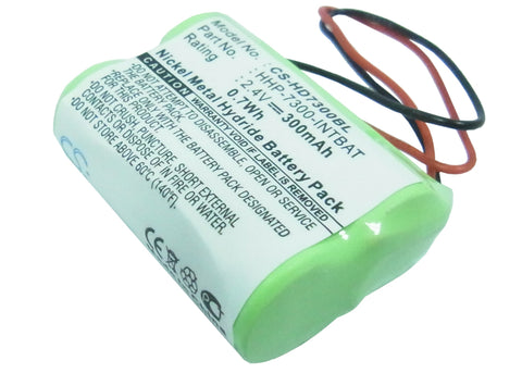 Battery for Handheld 7400, 7450, Dolphin 7300 HHP-7300-INTBAT 2.4V Ni-MH 300mAh/
