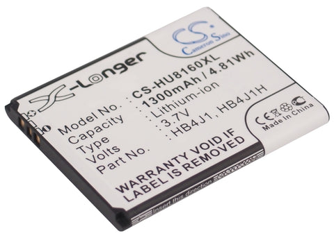 Battery for Huawei Ascend Y100, C8500, C8500S, GAGA, IDEOS, Ideos X1, IDEOS X3,