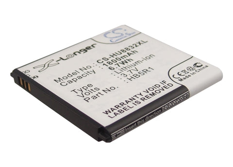 Battery for Huawei Ascend G500D, Ascend G600, Ascend P1 LTE 201HW, Panama, Shine