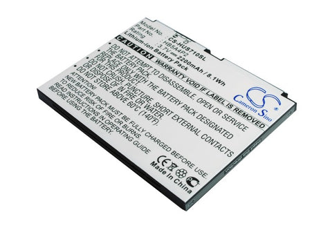 Battery for Telstra NextG T-Touch TAB 7-inch Tablet, Touch Tab Tablet HB5A4P2 3.