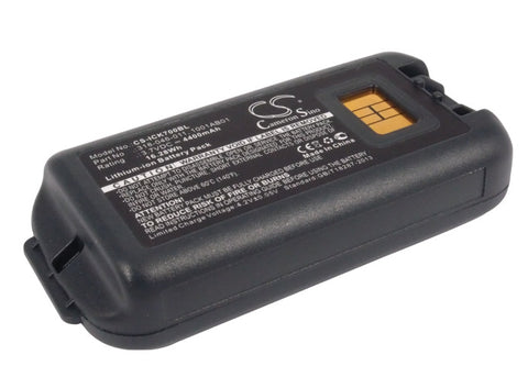 Battery for Intermec CK70, CK71 1001AB01, 1001AB02, 318-046-001, 318-046-011, AB