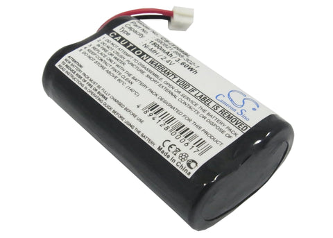 Battery for Intermec Trakker T2090 590821, 888-302-1 2.4V Ni-MH 1500mAh/3.6Wh