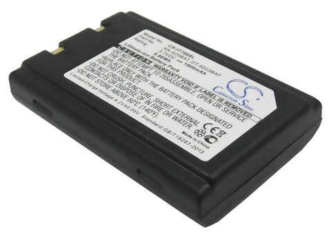 Battery for Unitech HT660, PA600, PA950, PA966, PA967, PA970 3.7V Li-ion 1800mAh