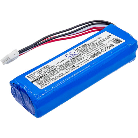 Battery for JBL Charge 3 GSP1029102A 3.7V Li-Polymer 6000mAh / 22.20Wh