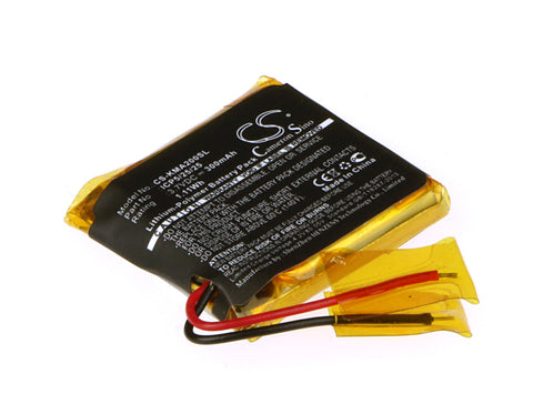 Battery for ROCKETFISH RF-MAB2, RF-MAB2-T ICP5/25/25 3.7V Li-Polymer 300mAh / 1.