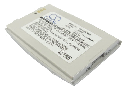 Battery for LG EG880, G5400, G5410 3.7V Li-ion 800mAh