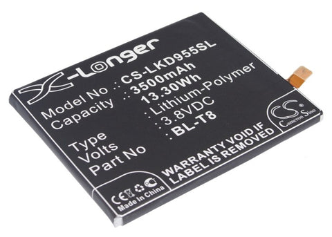Battery for LG Chameleon, D950, D955, D958, D959, F340, G Flex, KS1301, LGL23, L