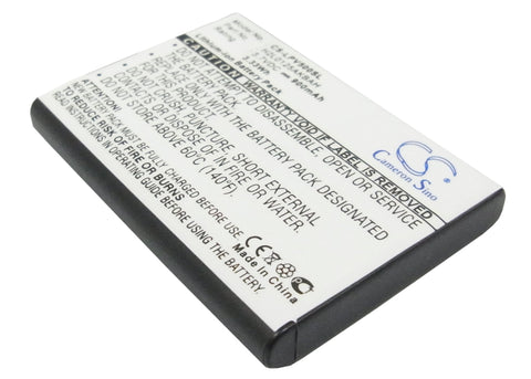 Battery for Lawmate PV-500 DVR Recorder H2L0125AKBAH 3.7V Li-ion 900mAh / 3.33Wh