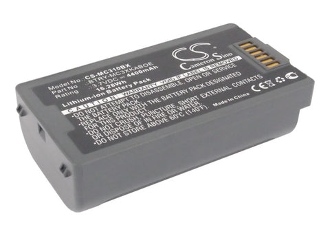 Battery for SYMBOL MC3100, MC3190, MC3190G, MC3190-G13H02E0, MC3190-GL4H04E0A, M