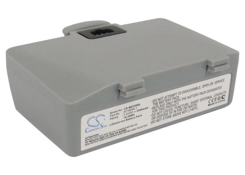 Battery for Zebra QL220, QL220+, QL320, QL320+ AT16004-1, H16004-LI 7.4V Li-ion