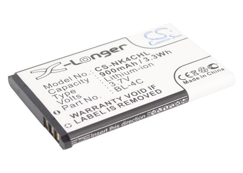 Battery for Rollei Compactline 83 3.7V Li-ion 900mAh / 3.33Wh