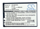 Battery for NGM Fred BL22 3.7V Li-ion 950mAh / 3.52Wh