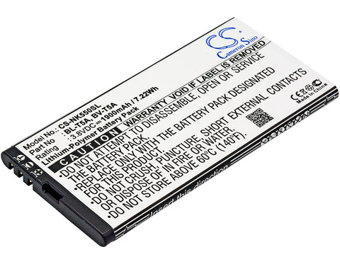Battery for Nokia Lumia 550, Lumia 730, Lumia 730 Dual SIM, Lumia 735, Lumia 735