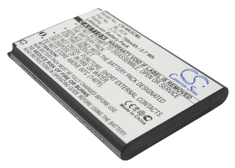 Battery for Nokia 1100, 1101, 1110, 1110i, 1112, 1200, 1208, 1255, 1280, 1315, 1