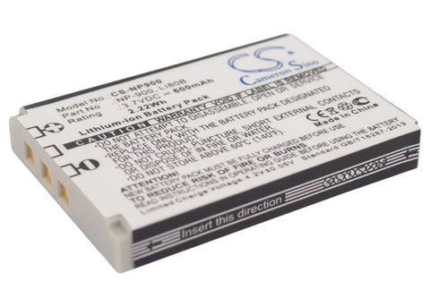 Battery for MINOX DC 4211, DC 5222, DC 6311, DC6011 02491-0015-00, 02491-0037-00
