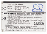 Battery for Aldi Slimline X5 3.7V Li-ion 600mAh
