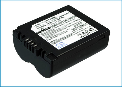 Battery for Leica V-LUX1 BP-DC5-E 7.4V Li-ion 750mAh