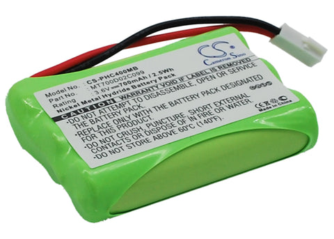 Battery for Philips CEPTF, SBC-EB3655, SBC-SC368, SBC-SC368/91, SBC-SC369, SBC-S