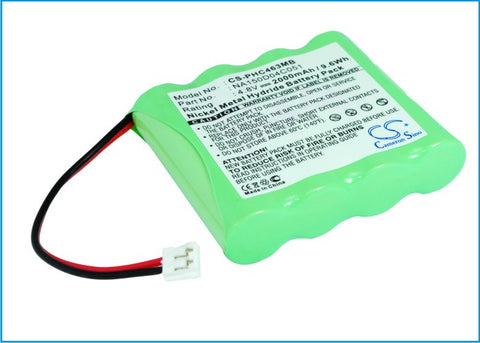 Battery for CHICCO NC3000 4-VH790670, SBP40CI 4.8V Ni-MH 2000mAh / 9.60Wh