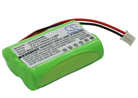 Battery for Philips SBC466, SBC-S477, SBC-S484, SBC-SC466, SBC-SC477, SBC-SC484,