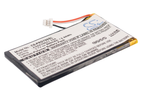 Battery for Sony PRS-700, PRS-700BC A98839601 294 3.7V Li-Polymer 800mAh/2.96Wh