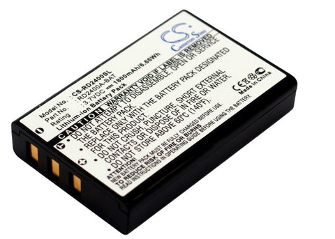 Battery for Thomson X-2400 3.7V Li-ion 1800mAh / 6.66Wh