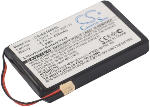 Battery for Sony NW-A1000, NW-A1200, NW-A1200s, NW-A1200v 1-157-607-11, CT019 3.