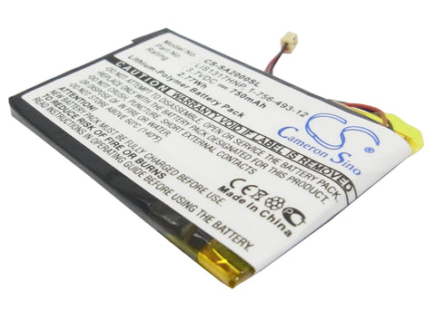 Battery for Sony NW-A2000, NW-HD3 1-756-493-12, 5427B, LIS1317HNP 3.7V Li-Polyme