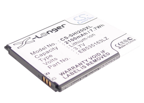 Battery for MetroPCS Admire, Admire 4G, Galaxy Admire 4G, Galaxy S Lightray 4G,